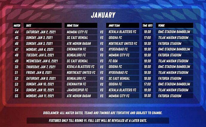 ISL 2020-21 Fixtures3