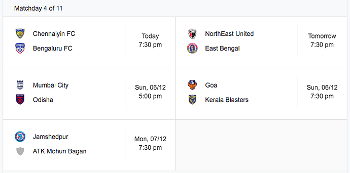 ISL-Matchday4