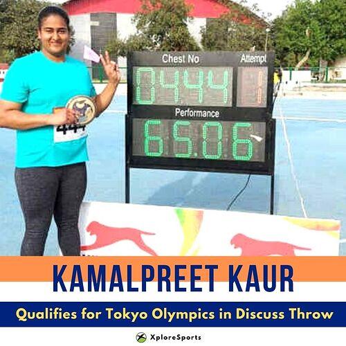 Kamalpreet-Kaur-Olympics-Qualified