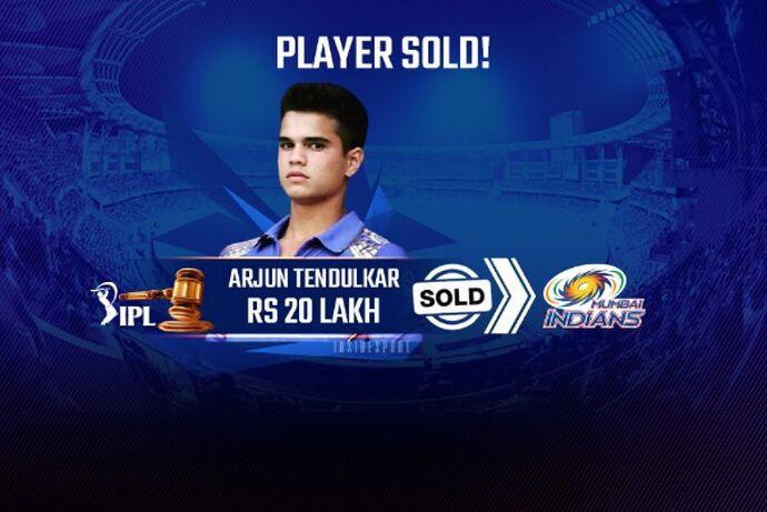 IPL-2021-Arjun Tendulkar