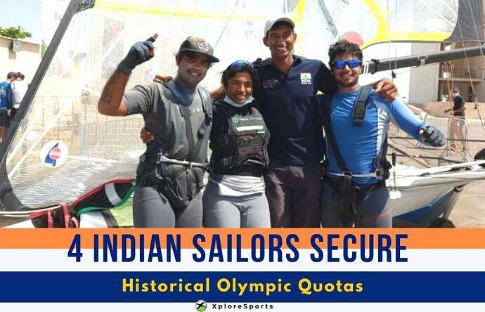 Indian-Sailors-Olympic Quota