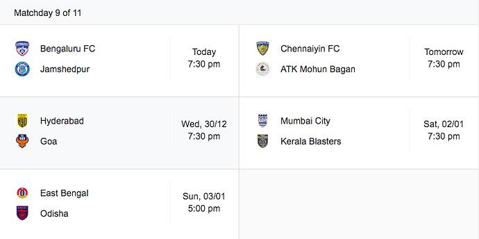 Matchday-9-Fixtures