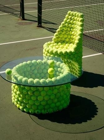 Recycle-Tennis-ball-furniture