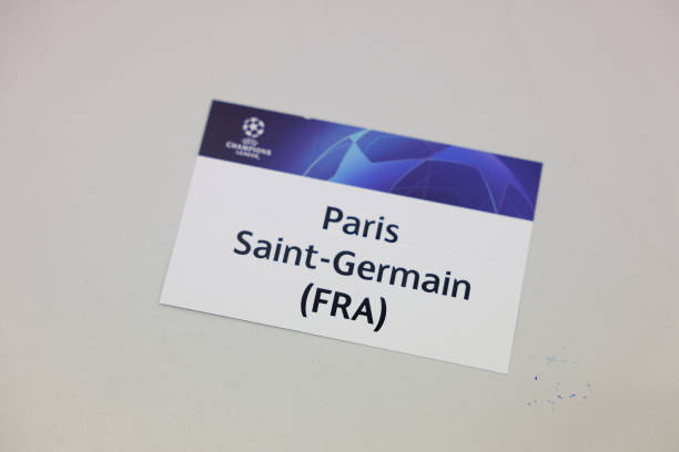 the-paris-saintgermain-card-during-the-uefa-champions-league-202021-picture-id1231802442