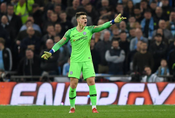 kepa-arrizabalaga-of-chelsea-refuses-to-be-substituted-during-the-picture-id1127105440