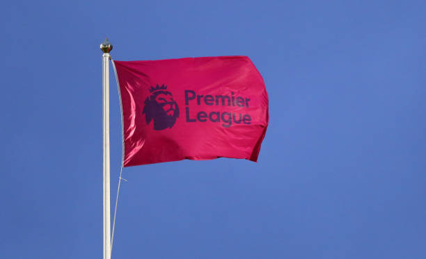the-premier-league-logo-on-a-flag-during-the-premier-league-match-picture-id1206535863